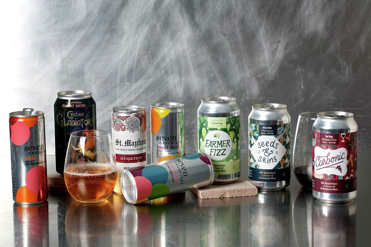 Canned wines are easier on the environment.