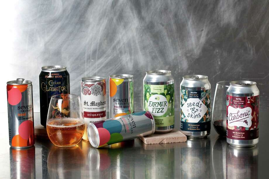 Canned wines are easier on the environment. Photo: Photo By Deb Lindsey For The Washington Post. / For The Washington Post