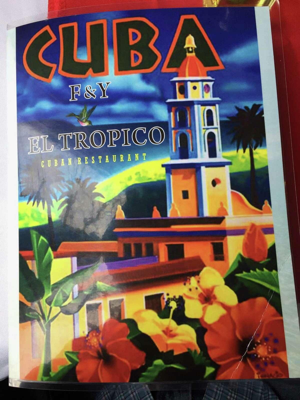 F&Y El Tropico Cuban Restaurant is located at 6060 Montgomery Drive, Suite 101.