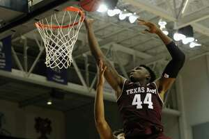 A&M forward Robert Williams, considered to be a potential NBA lottery selection this summer, has had his season derailed so far with a suspension and then a concussion.