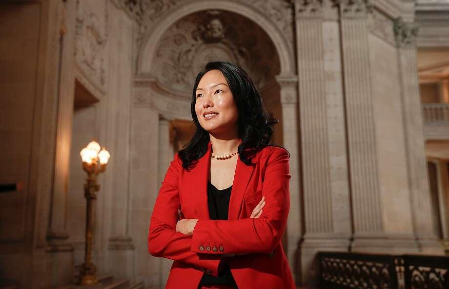 San Francisco Supervisor and mayoral candidate Jane Kim Photo: Michael Macor, The Chronicle