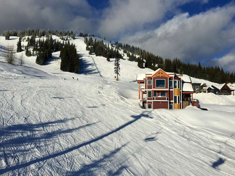 Silver Star ski resort outside Vernon, British Columbia. Photo: Kat Tancock, Special To The Chronicle