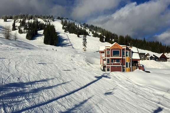 Silver Star ski resort outside Vernon, British Columbia.