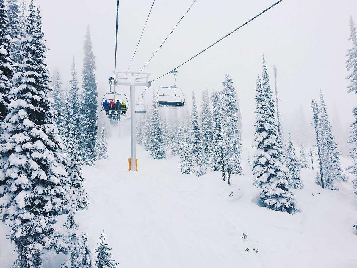 Big White Ski Resort in British Columbia.