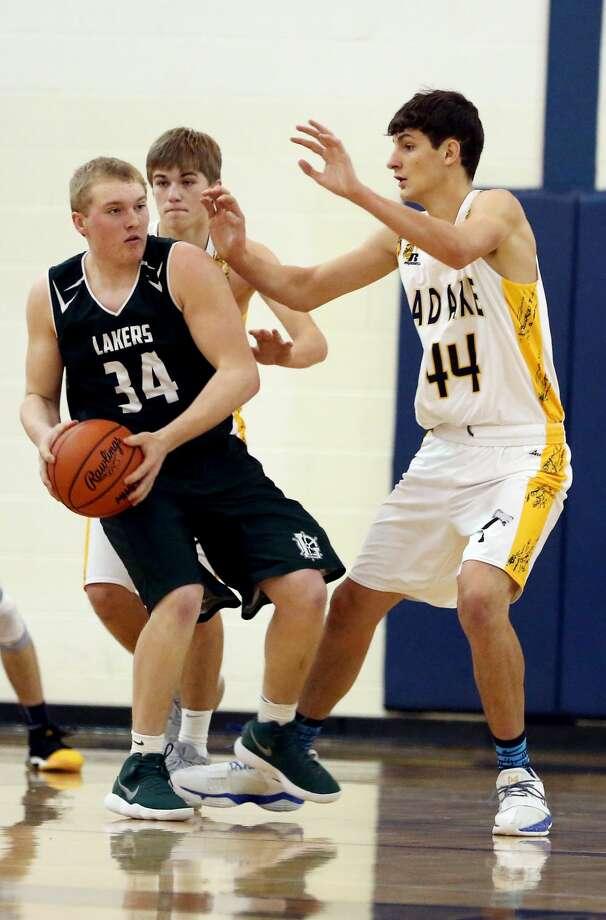 EPBP at Bad Axe — Boys Basketball 2018 Photo: Paul P. Adams/Huron Daily Tribune