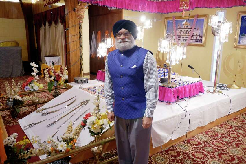 Paul Uppal, executive secretary at Guru Nanak Darbar of Albany, poses for a photo on Thursday, Dec. 28, 2017, in Niskayuna, N.Y. (Paul Buckowski / Times Union)