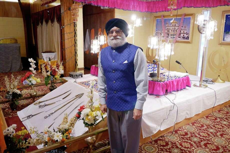 Paul Uppal, executive secretary at Guru Nanak Darbar of Albany, poses for a photo on Thursday, Dec. 28, 2017, in Niskayuna, N.Y.   (Paul Buckowski / Times Union) Photo: PAUL BUCKOWSKI / 20042448A