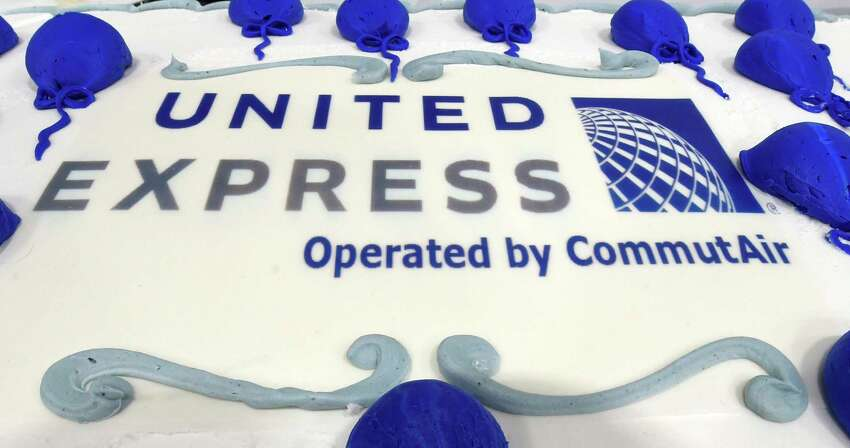 CommutAir's United Express connection that will be based in part at the Albany International Airport in their new maintenance facility which was unveiled Friday Jan. 22, 2016 in Colonie, N.Y. (Skip Dickstein/Times Union)