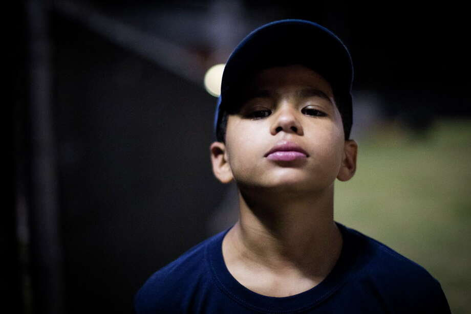 Matthew Ladet is one of the young baseball players training at the Houston Astros MLB Urban Youth Academy in Sylvester Turner Park, Thursday, Nov. 16, 2017, in Houston. ( Marie D. De Jesus / Houston Chronicle ) Photo: Marie D. De Jesus, Houston Chronicle / © 2017 Houston Chronicle