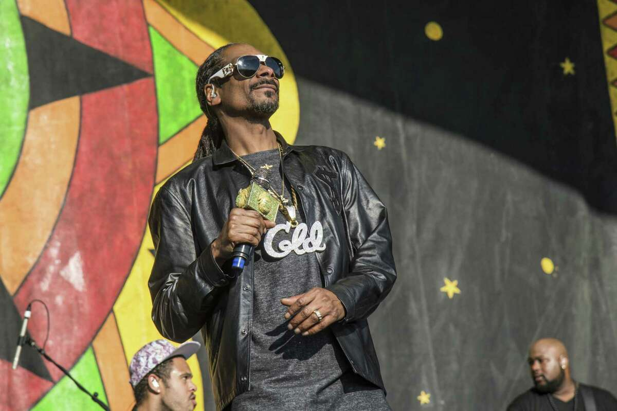 Snoop Dogg is among the more than 80 acts being scheduled to perform at this year's BottleRock Napa Valley music festival.