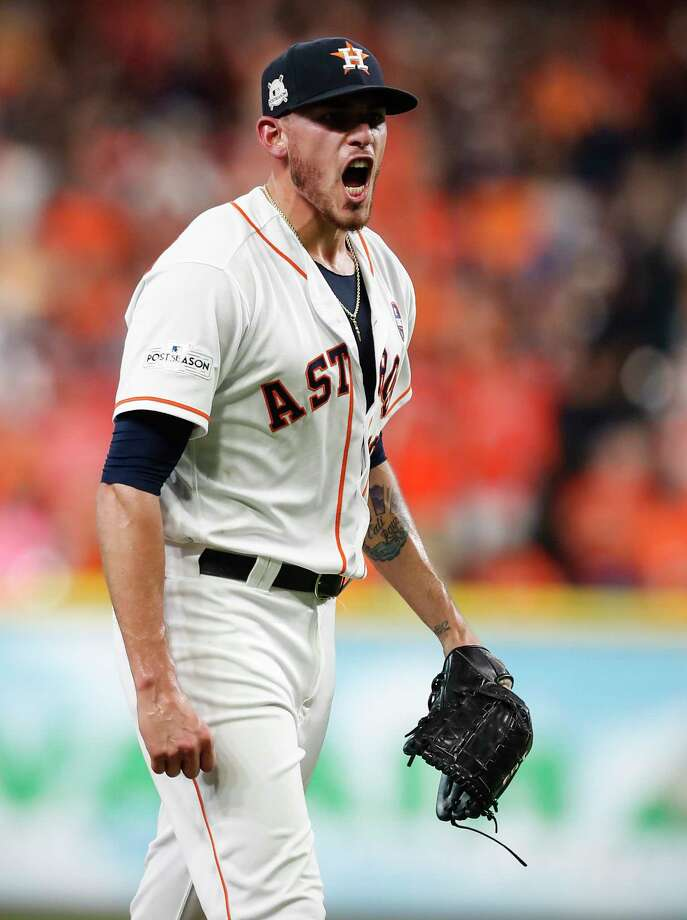 On Sunday evening, MLB pitcher Joe Musgrove shared a personal letter on Instagram thanking Houston for having him and his family after being traded by the Astros to the Pittsburgh Pirates. Continue through the photos to see the last appearance Musgrove made as an Astros at the annual FanFest on Saturday. Photo: Brett Coomer, Staff / © 2017 Houston Chronicle