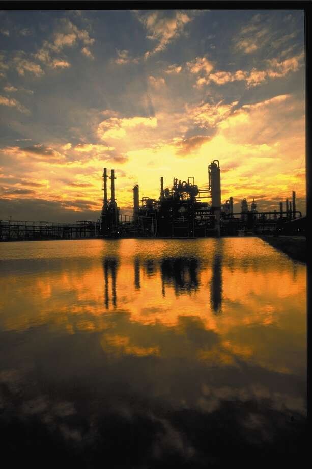 LyondellBasell will consider flood prevention measures as it builds a new propylene oxide plant at its Channelview complex, one of the largest petrochemical facilities along the Gulf Coast.  / Internal