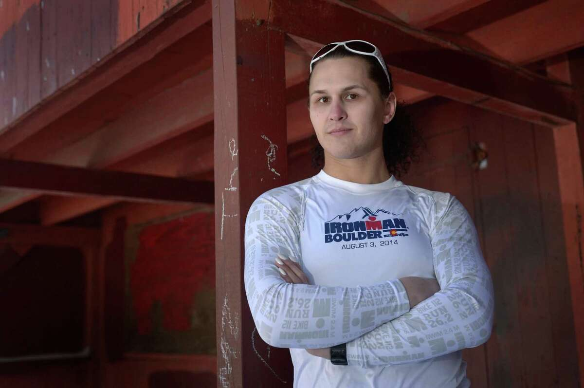 Stamford resident Raven Matherne believes a change to state building codes regarding gender-neutral bathrooms is long