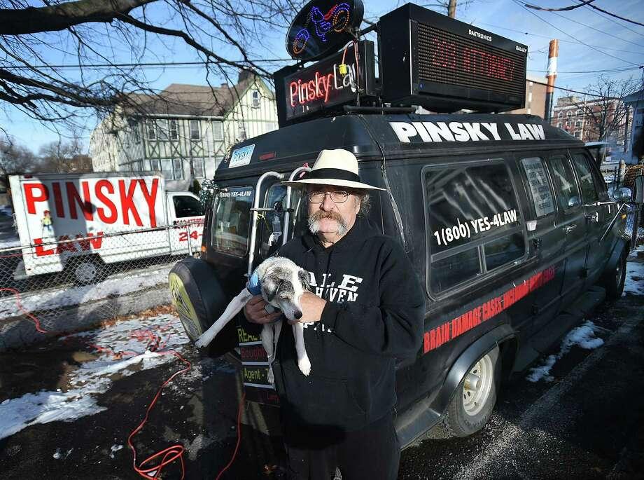 Randall Beach: Meet attorney Irving Pinsky, a fast talker