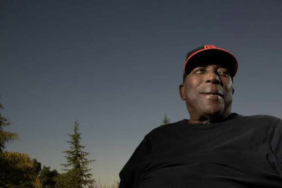 Hall of Fame first baseman Willie McCovey turns 80 on Jan. 10, 2018. Here he is at home on Tuesday, Dec. 5, 2017 in Woodside, CA.