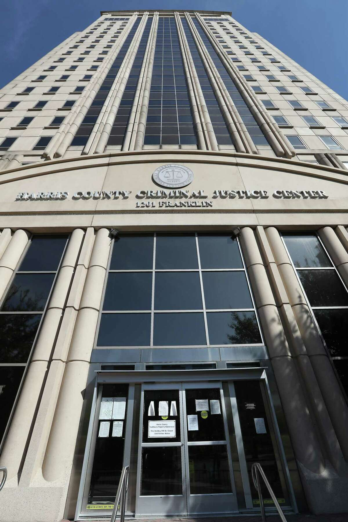 Hurricane Harvey shuttered the Harris County Criminal Courthouse at 1201 Franklin, as did Tropical Storm Allison. Consultants are studying what to do with the structure.