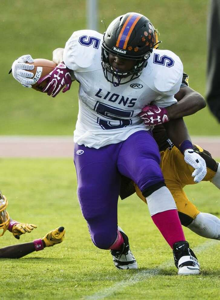 Yarvell Smith averaged 9.2 yards per carry for state champion Galileo.