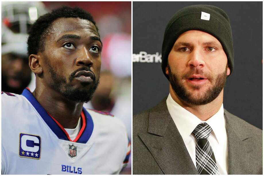 In this combination of photos shows Buffalo Bills quarterback Tyrod Taylor and Jacksonville Jaguars quarterback Blake Bortles. Taylor helped Buffalo end the longest, current postseason drought in North American pro sports (17 years) while Bortles led Jacksonville to its first playoff berth since the 2007 season. (AP Photo/David Goldman, Ron Schwane) Photo: David Goldman, Ron Schwane, FRE / Copyright 2017 The Associated Press. All rights reserved.