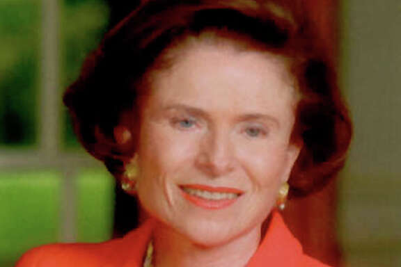 Former Texas first lady Rita Crocker Clements, in this undated file photo, is being reappointed to the University of Texas Board of Regents by Gov. Rick Perry. Perry, wanting to diversify the predominantly white male board, named three women to the panel  Friday, March 23, 2001.  (AP Photo/Austin American-Statesman, file)  HOUCHRON CAPTION  (03/24/2001): Rita Clements.