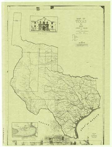 Map Of West Texas And New Mexico.Bexar County Once Extended To Wyoming Expressnews Com