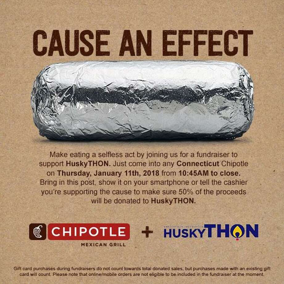 Connecticut S 40 Under 40 Class Of 2018: Chipotle Fundraiser To Benefit UConn's HuskyTHON