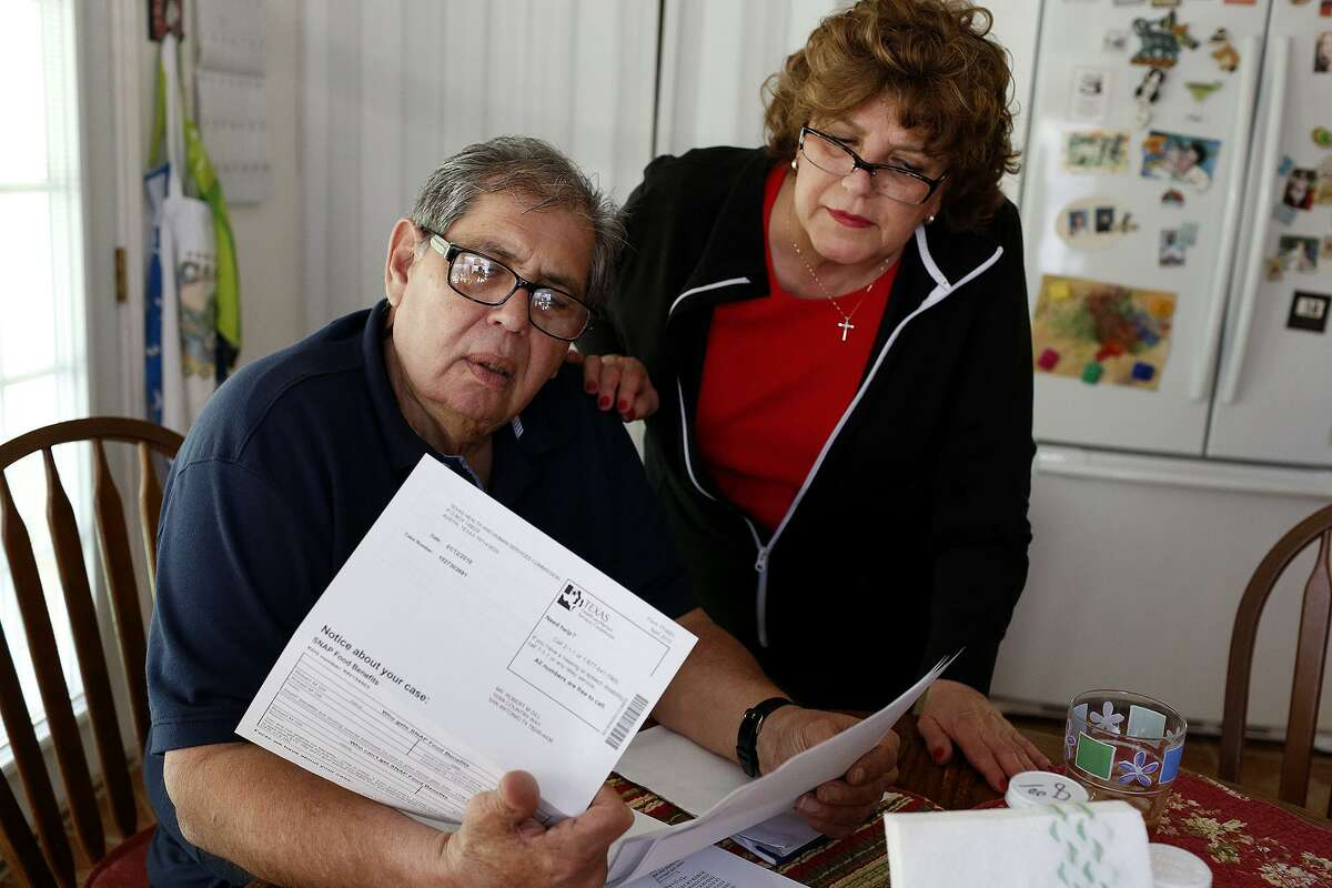 Bobby Gill is shown with his sister, Yolanda Gill-Walker, at her home in San Antonio in January 2016. He had returned to the city eight months earlier after his life sentence was commuted by former President Barack Obama. Last February, he was arrested on drug charges and later sentenced to five years in prison.