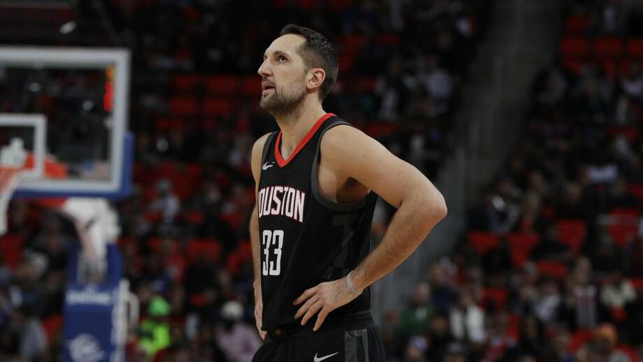 Rockets forward Ryan Anderson (33) has struggled to make shots over the last 15 games, but he said his confidence is not wavering. Photo: Carlos Osorio/Associated Press