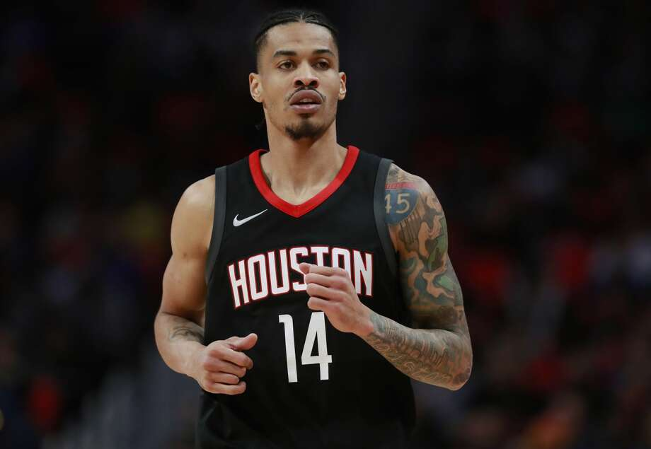 Houston Rockets guard Gerald Green runs up court during the second half of an NBA basketball game against the Detroit Pistons, Saturday, Jan. 6, 2018, in Detroit. (AP Photo/Carlos Osorio) Photo: Carlos Osorio/Associated Press