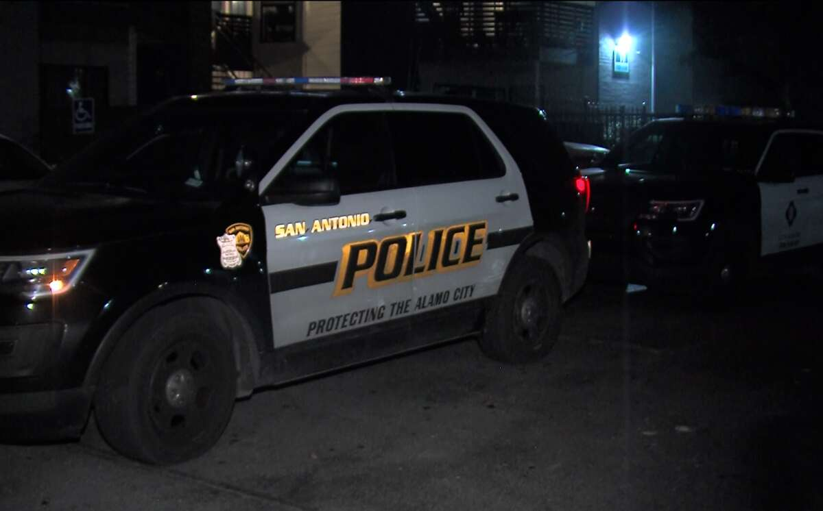 San Antonio police say a fight between a couple in their North Side apartment escalated and ended in the man suffering a knife wound to his arm Saturday night, Jan. 6, 2018.