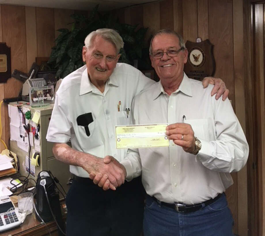 The Liberty County Child Welfare Board would like to take thank and acknowledge the Liberty Elks Lodge #2019 for their generous $500 donation. The generosity and kindness of our community makes all the difference. LCCWB Treasurer John Hebert (left) is pictured accepting a check from Wayne Culver, Elks Exhaulted Ruler. Photo: Submitted