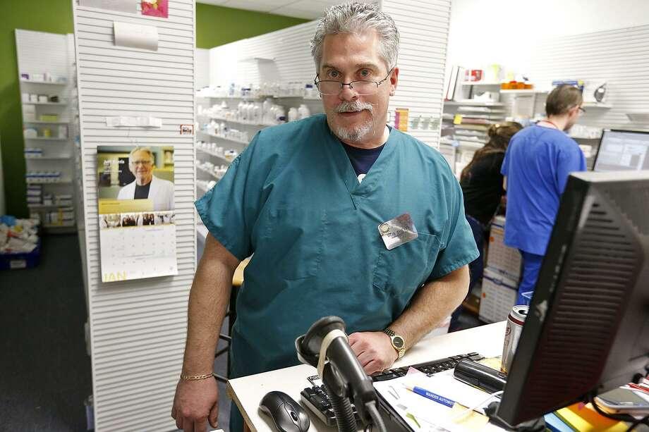 Portrait of Rob Phelps, Pharmacist in Charge Rite-Away Pharmacy #1, Thursday Jan. 4, 2018 at the pharmacy. Photo: Edward A. Ornelas, Staff / San Antonio Express-News / © 2018 San Antonio Express-News