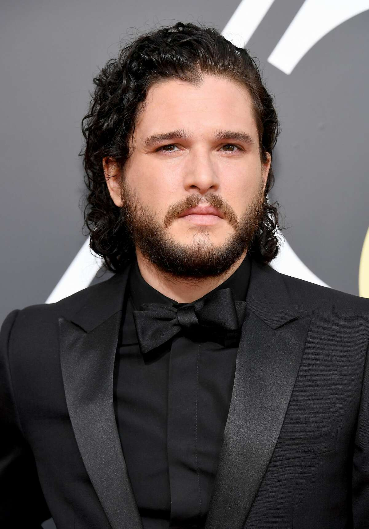 Actor Kit Harrington arrives to the 75th Annual Golden Globe Awards held at the Beverly Hilton Hotel on January 7, 2018.
