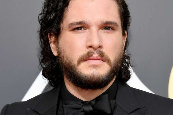 BEVERLY HILLS, CA - JANUARY 07: 75th ANNUAL GOLDEN GLOBE AWARDS -- Pictured: Actor Kit Harrington arrives to the 75th Annual Golden Globe Awards held at the Beverly Hilton Hotel on January 7, 2018. (Photo by Kevork Djansezian/NBC/NBCU Photo Bank via Getty Images)