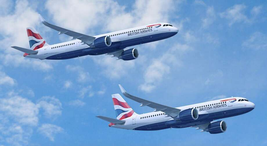 British Airways new Airbus A320neo and A321neo have larger winglets than older, non-neo versions Photo: Airbus