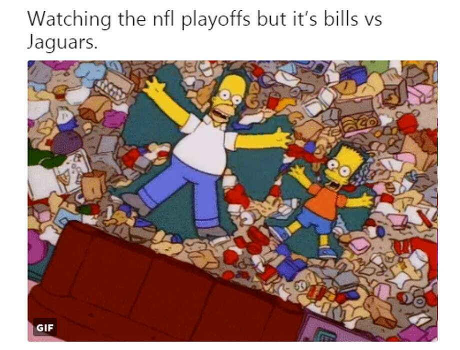 Source: Twitter (Rooach)Browse through the photos for the best memes and Tweets fron Sunday's playoff games. Photo: Twitter (Rooach)