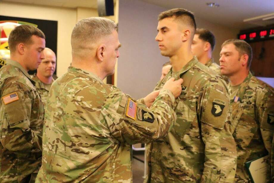 Duty Calls: Waterford soldier earns highest award for non-combat