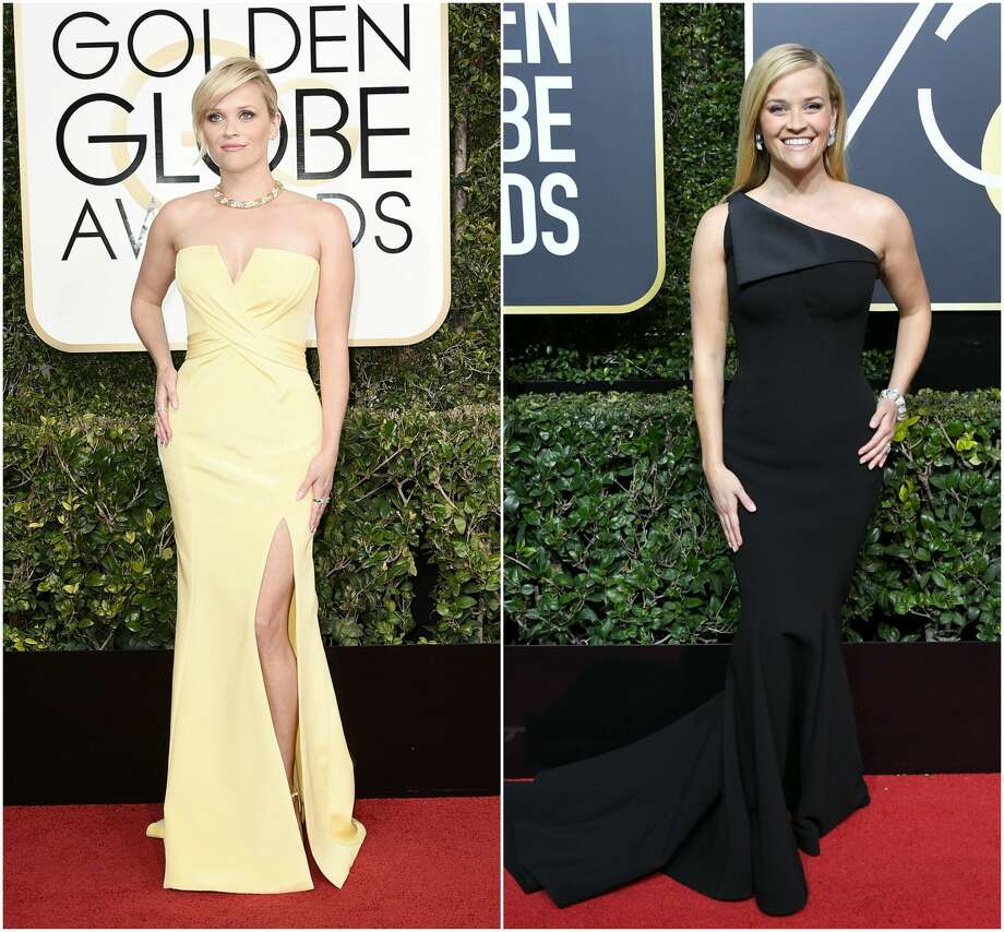 Keep clicking to see how different celebrities looked at this year's Golden Globes compared to last year. Photo: Getty Images