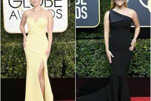 Keep clicking to see how different celebrities looked at this year's Golden Globes compared to last year.
