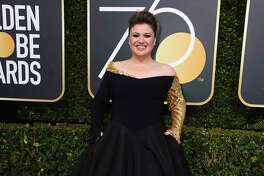 BEST: Kelly Clarkson looked like a princess in this Christian Siriano gown.