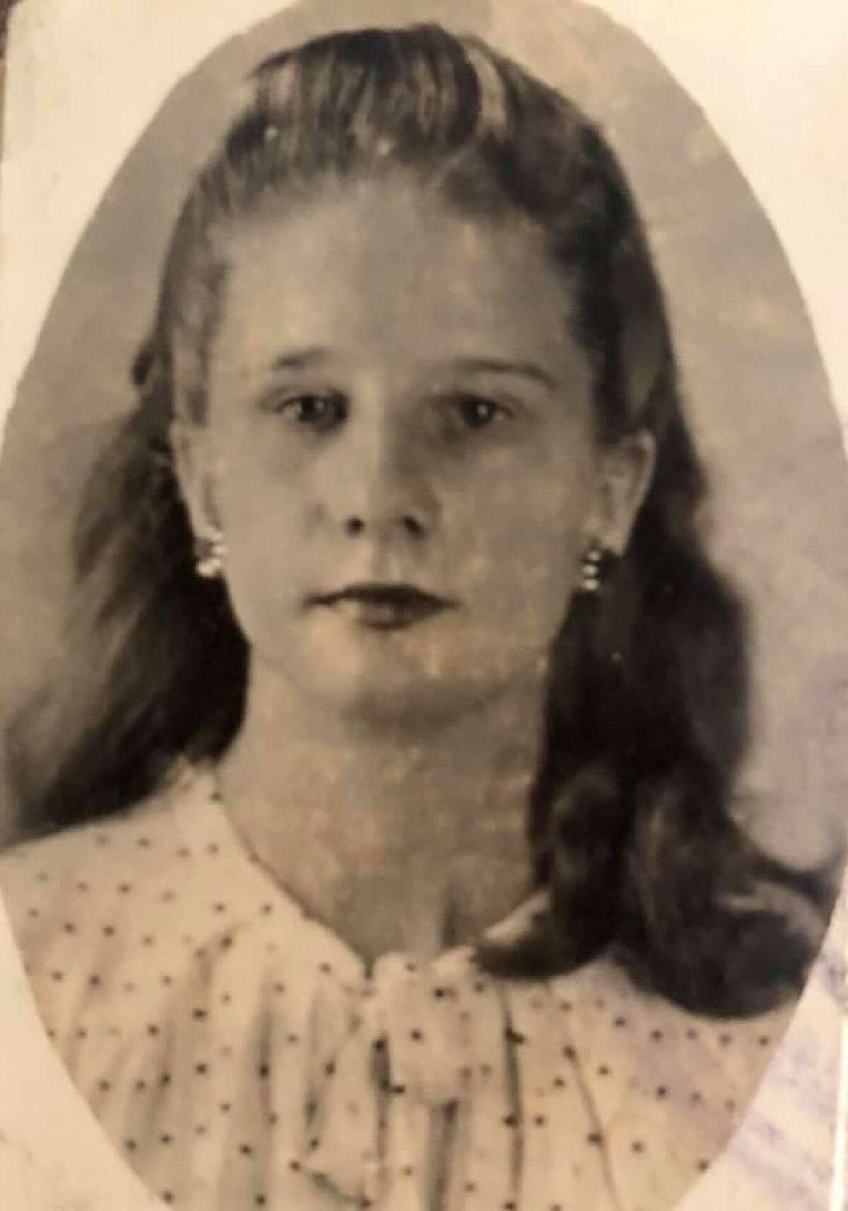 A young Phyllis Neumann