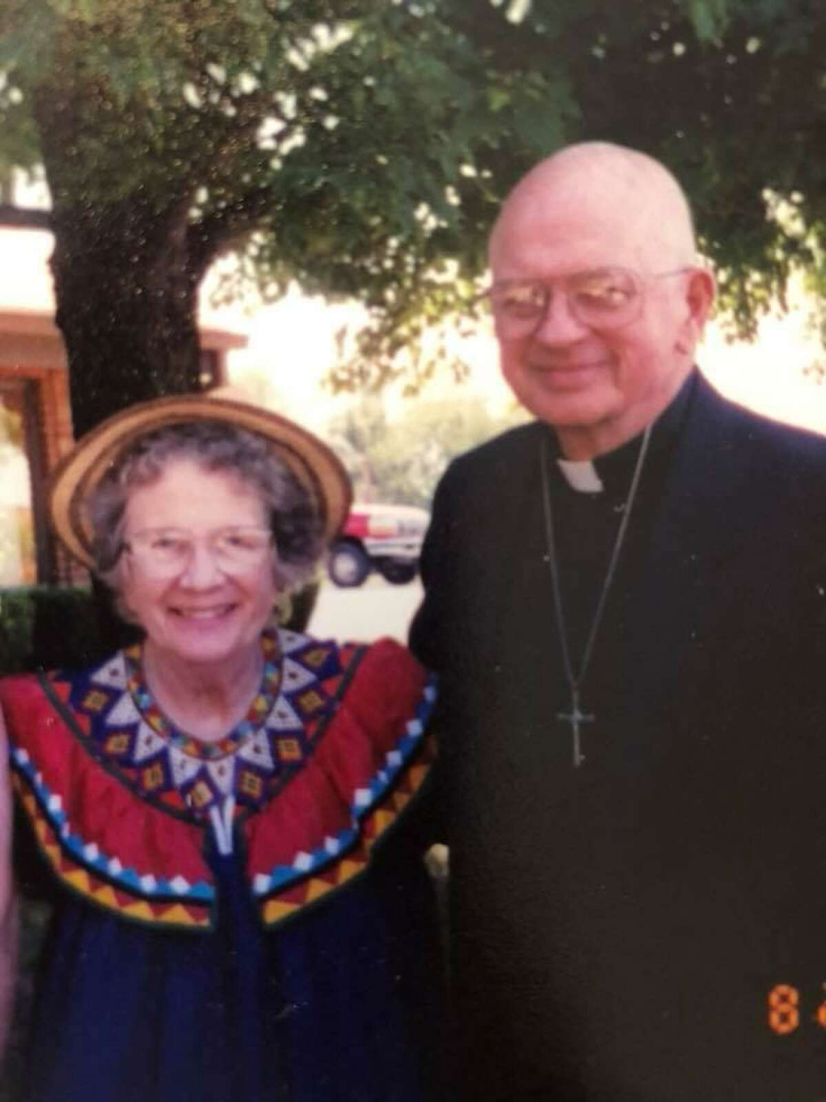 Phyllis Neumann would wear her native Panamanian hats while she and her husband Donald were in the states on sabbatical during their seven years as missionaries in Panama.