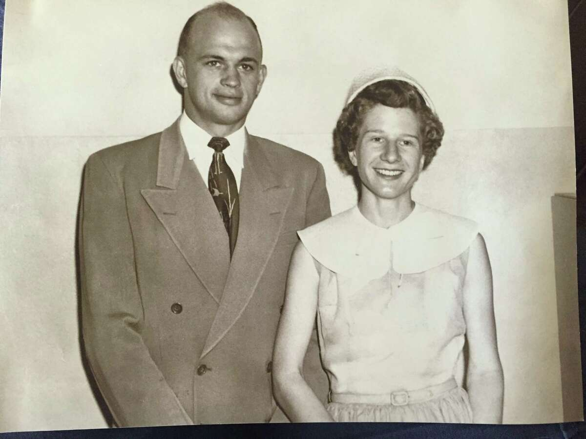 Phyllis Neumann and her husband Donald were married in 1953, just a few days before Donald Neumann had to leave for the Korean War.