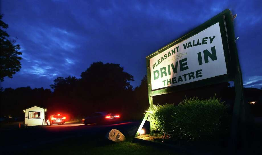 Scenes from Friday night, June 23, 2017, at Pleasant Valley Drive-in movie theater, the oldest operating Connecticut drive-in owned and operated by Donna McGrane, in Barkhamsted. (Catherine Avalone / Hearst Connecticut Media) Photo: Catherine Avalone, Catherine Avalone/New Haven Register / Catherine Avalone/New Haven Register