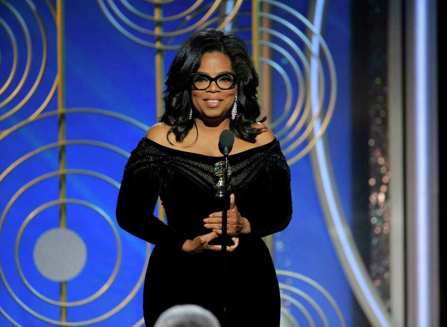 See other celebrities besides Oprah Winfrey who've hinted at running for political office. Photo: Paul Drinkwater, Associated Press / 2018 NBCUniversal Media, LLC