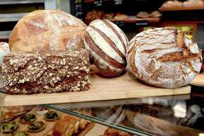 (Peter Hvizdak - New Haven Register) FOR SHORELINE TIMES: Friday, October 7, 2016, Branford: G-Cafe Bakery and their famous breads.