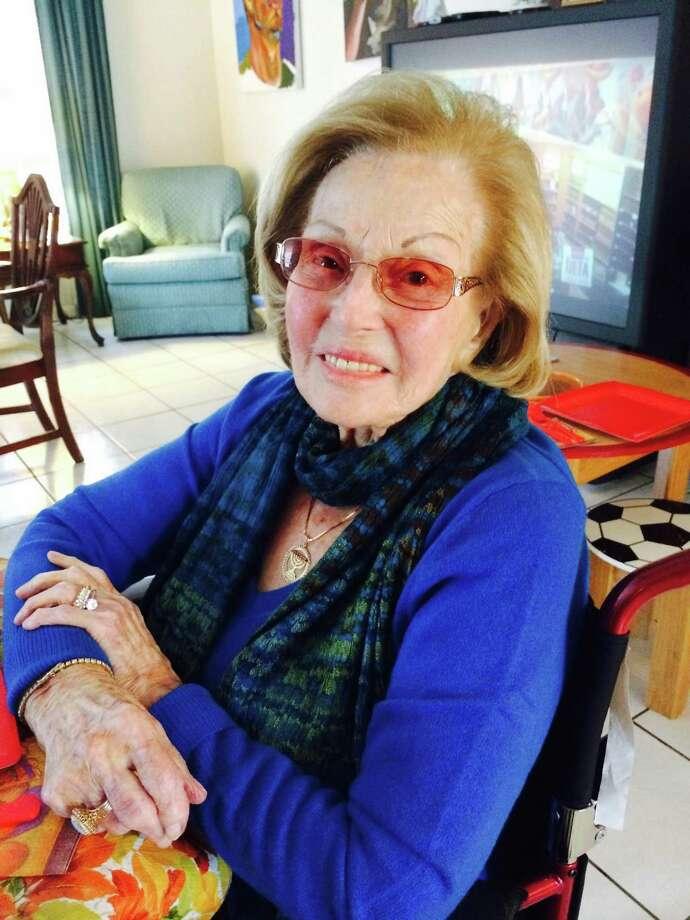 Taibe Goldberg, one of Laredo's last living Holocaust survivors, died Dec. 29, 2017 at age 95. Photo: Courtesy Photo