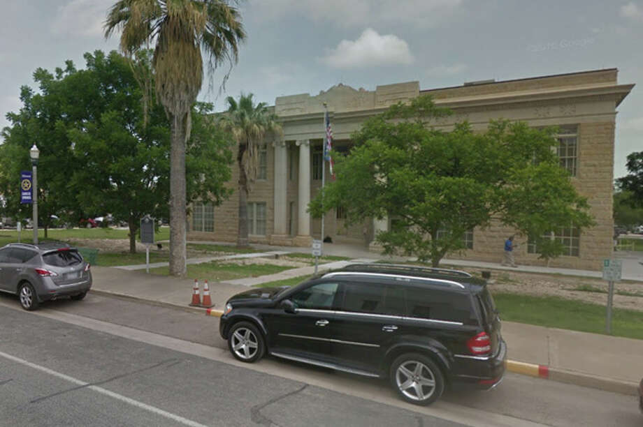 In this courtesy photo, the Dimmit County courthouse is pictured. Photo: Google Maps/Street View