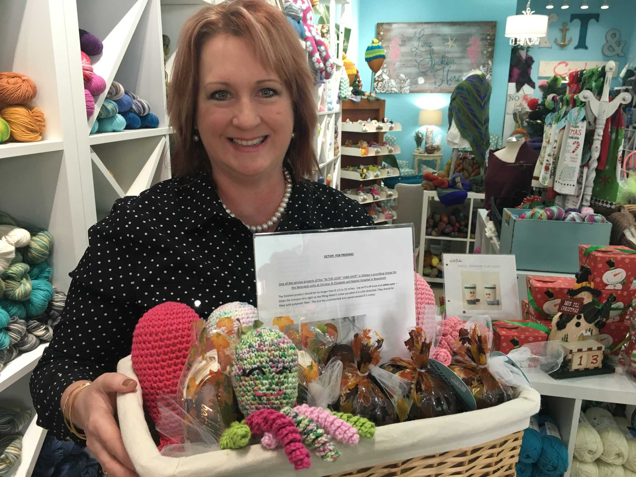 hardin county crocheters create calming dolls for premature babies