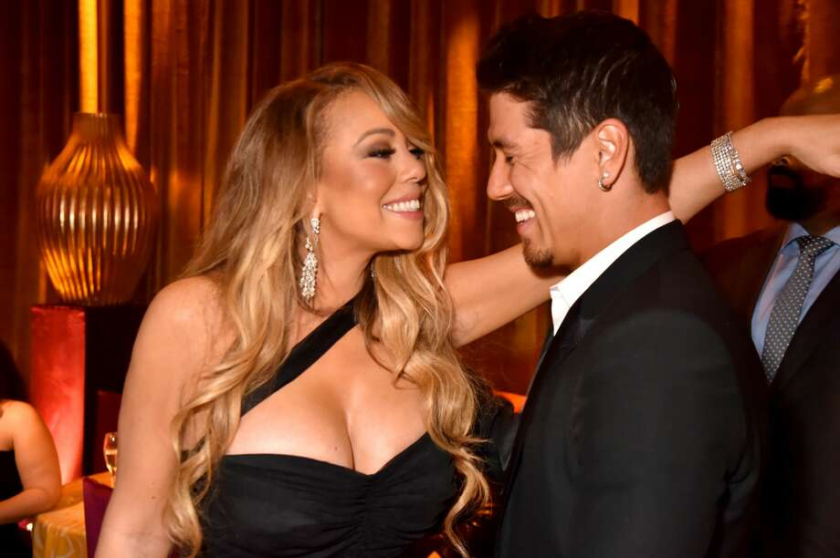 Mariah Carey and Bryan Tanaka attend HBO's Official 2018 Golden Globe Awards After Party on January 7, 2018 in Los Angeles, California. Photo: Jeff Kravitz/FilmMagic For HBO