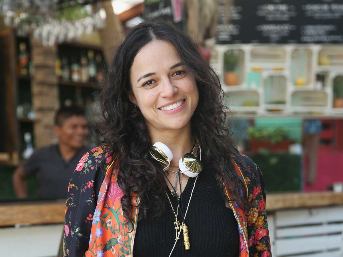 TULUM, MEXICO - JANUARY 06: Actress Michelle Rodriguez seen on January 6, 2018 in Tulum, Mexico. (Photo by Mireya Acierto/GC Images)